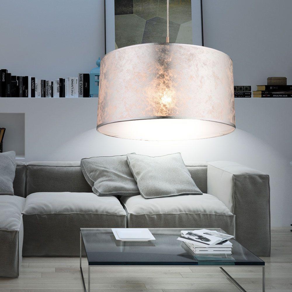 Luxus Hänge Leuchte Küchen Tisch Pendel Beleuchtung Stoff Decken