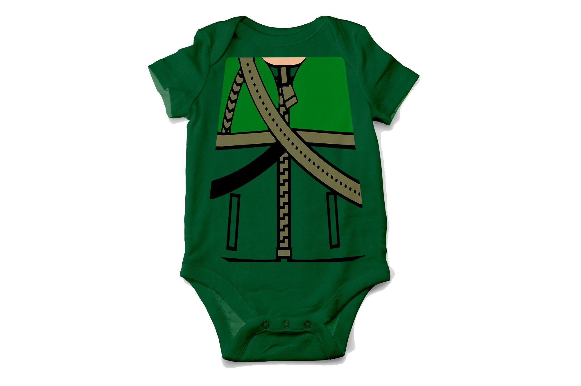 b784f71ab His name is Oliver Queen, for 5 years he had only one thought...survive!  Now your little vigilante can be the Green Arrow in this cosplay costume  onesie.