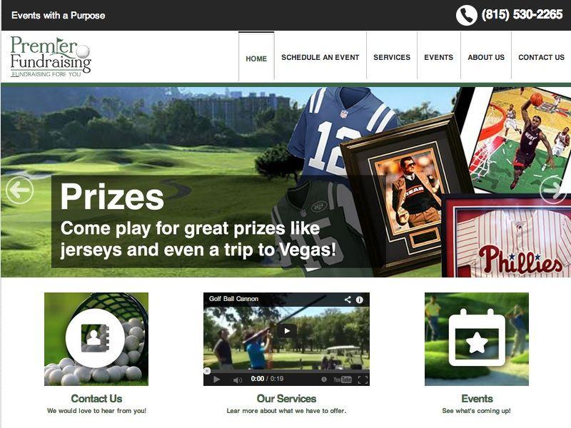 Premier Fundraising Web Design By Linkpointmedia Com Web Design Event Services Fundraising