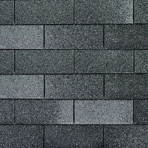 Nickel Gray Gaf 3tab Roof Shingles Swatch Shingling Roofing Roof Shingles