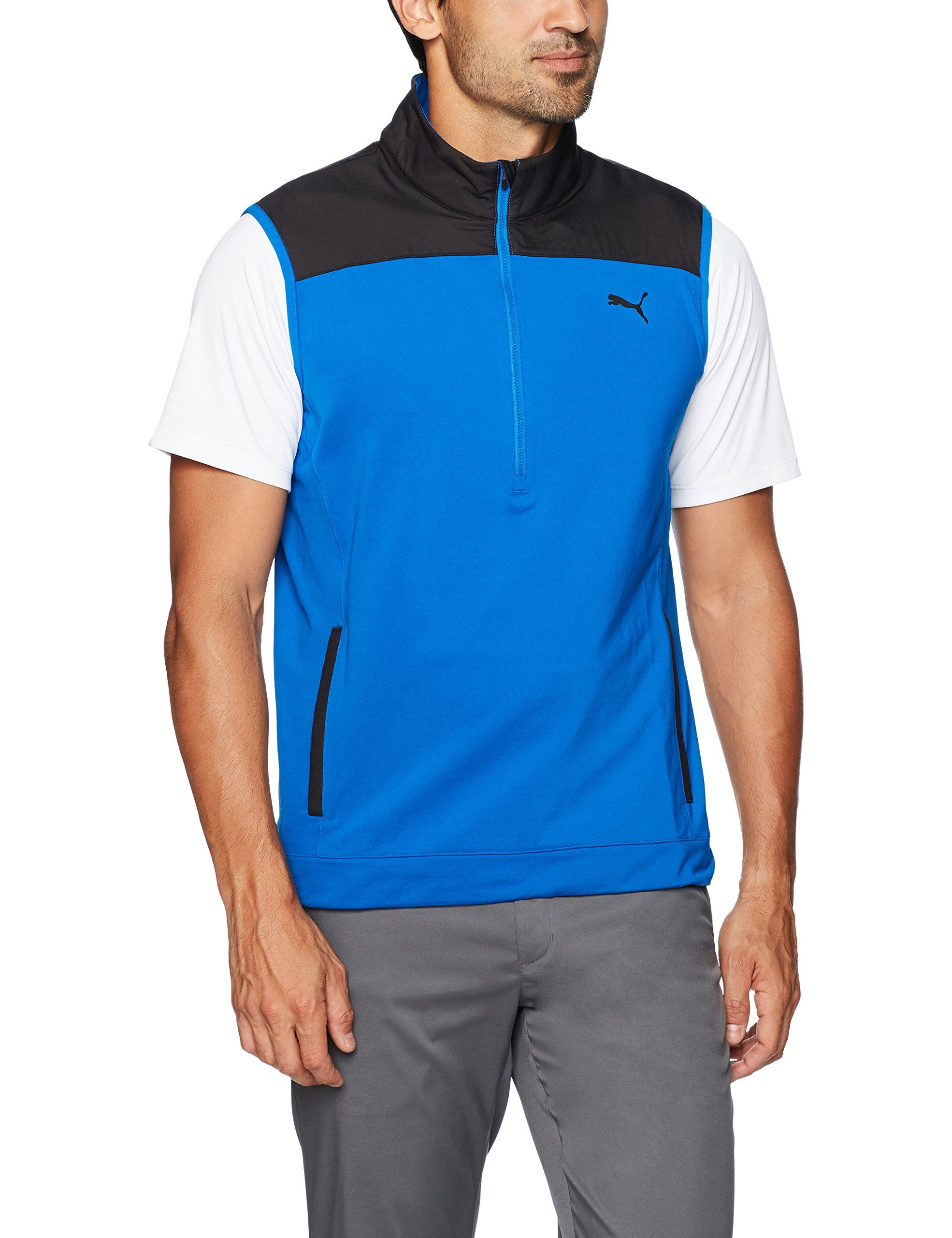 Golf Clothing     Puma Golf 2017 Mens Pwrwarm Knit Vest Lapis Blue XXLarge    Have a look at the photo by seeing the link. (This is an affiliate link). dfd6226c5c