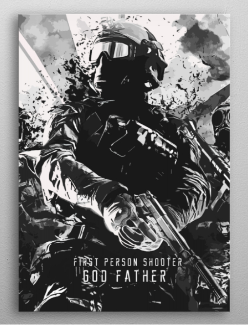 "Battlefield god father poster #Displate explore Pinterest""> #Displate #RedBubble explore Pinterest""> #RedBubble #WallArt explore… 