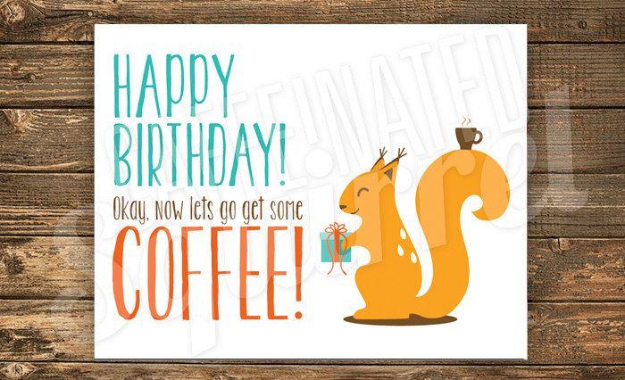 Squirrel Playing Guitar Happy Birthday Printable Birthday Card Etsy Dog Birthday Wishes Happy Birthday Cat Happy Birthday Squirrel