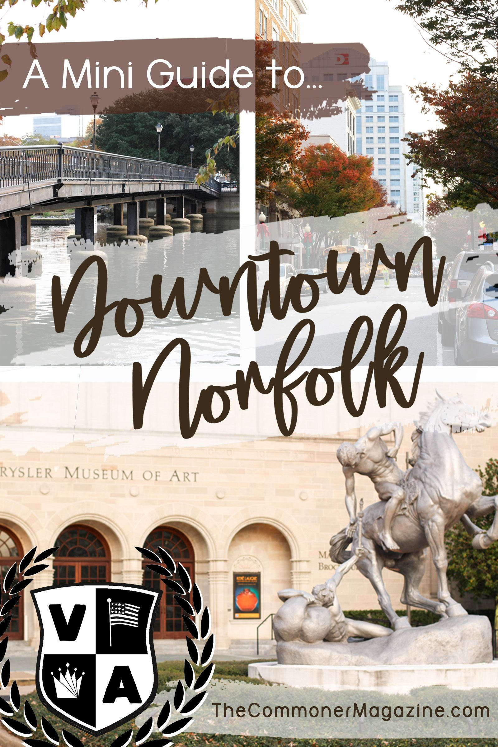 The Burgeoning Bustle Of Downtown Norfolk