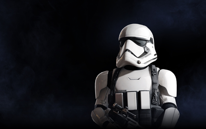 Download wallpapers 4k, Star Wars Battlefront 2, 2017