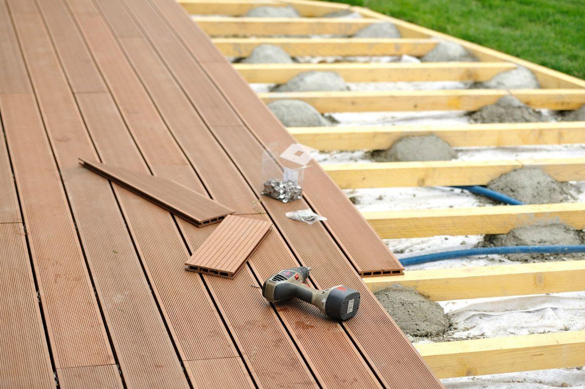 Comment Fabriquer Une Terrasse En Beton méthode pour bien construire une terrasse en bois