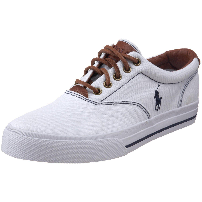 Polo Ralph Lauren Mens Canvas Vaughn Sneaker * Quickly