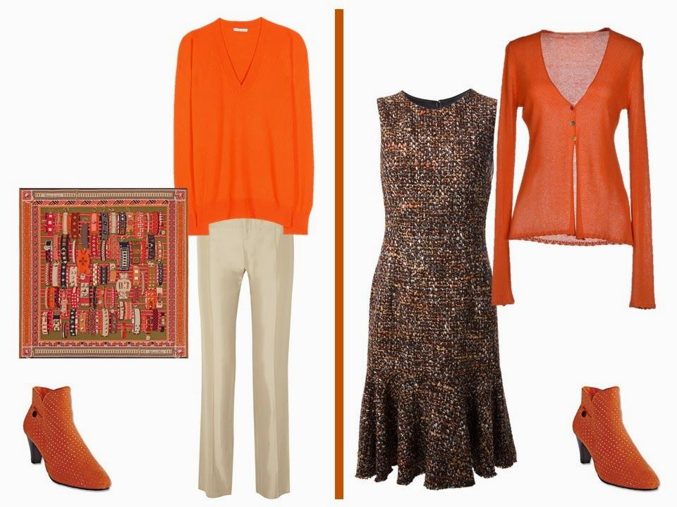The Vivienne Files: orange Some ideas for wearing my ...
