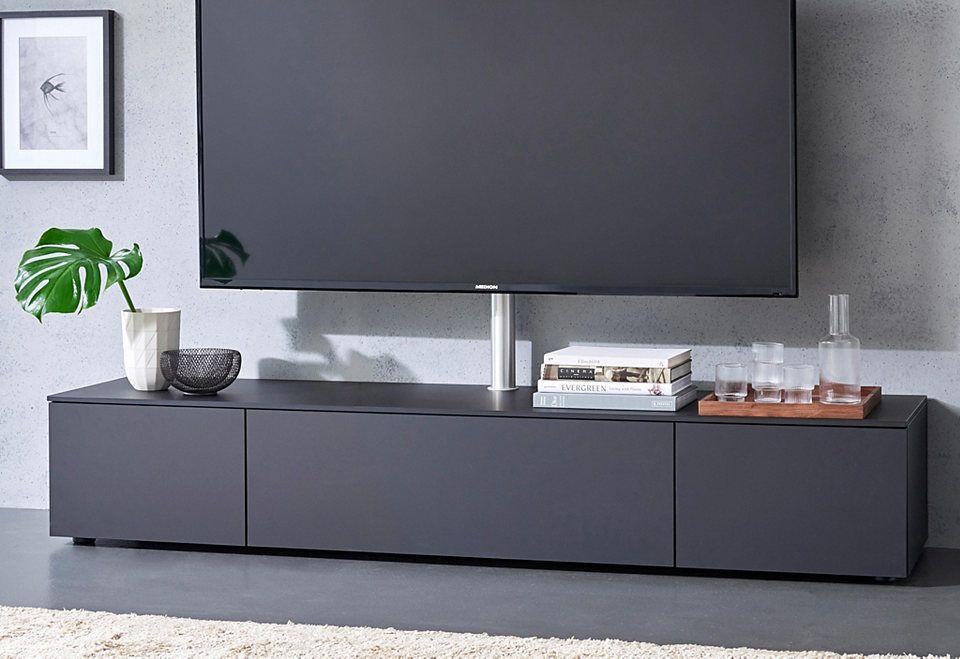 Spectral lowboard »select« wahlweise mit tv halterung breite 200 cm