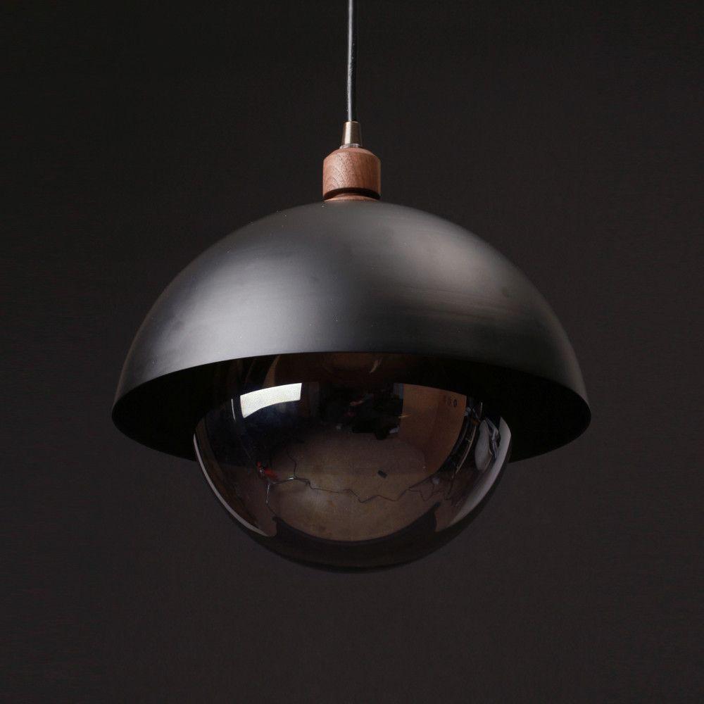 City Elsässer Licht Und Wohndesign: Black Dome Pendant By Allied Make #licht