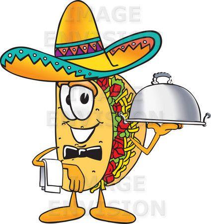 Taco running. The classic cartoon this