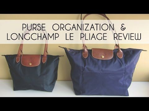 124c5ac9f12d Purse Organization (Longchamp Le Pliage Review)   What s In My Bag Tag -  YouTube