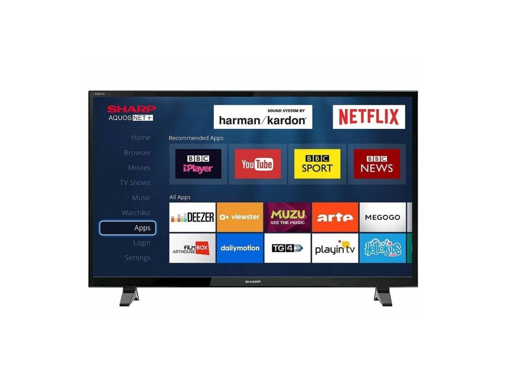 Sharp Lc 40fg2241kf 40 Inch Led Full Hd Smart Tv Smart Tv Sharp