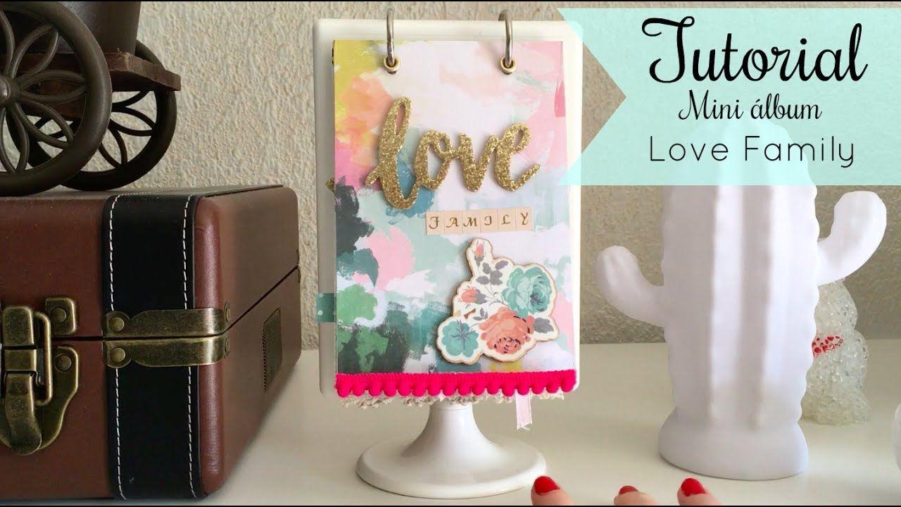 ☆ TUTORIAL: Mini álbum en marco de Ikea Love Family ☆   Scrap ...