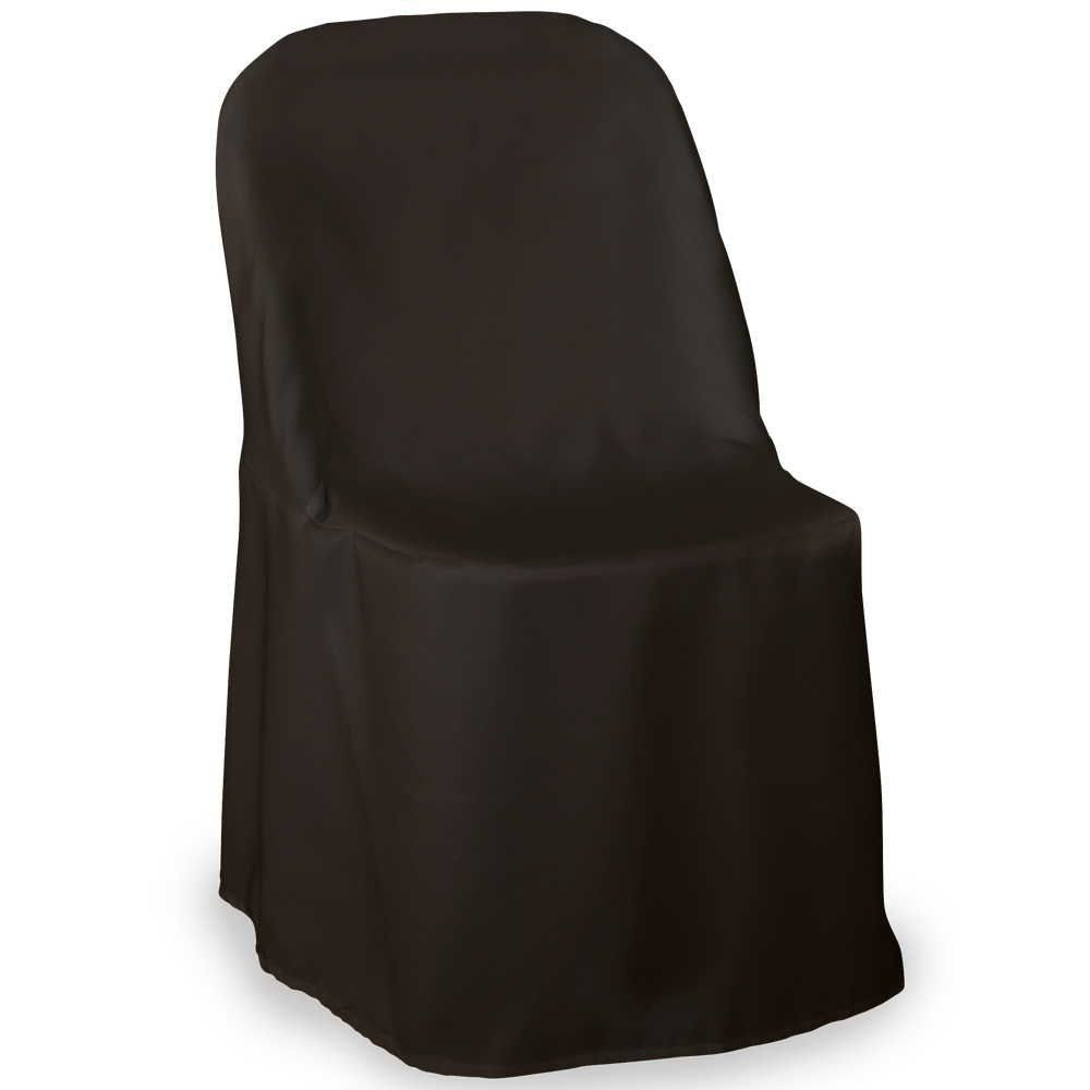 Set Of 10 Or More Polyester Folding Wedding Chair Cover Chair