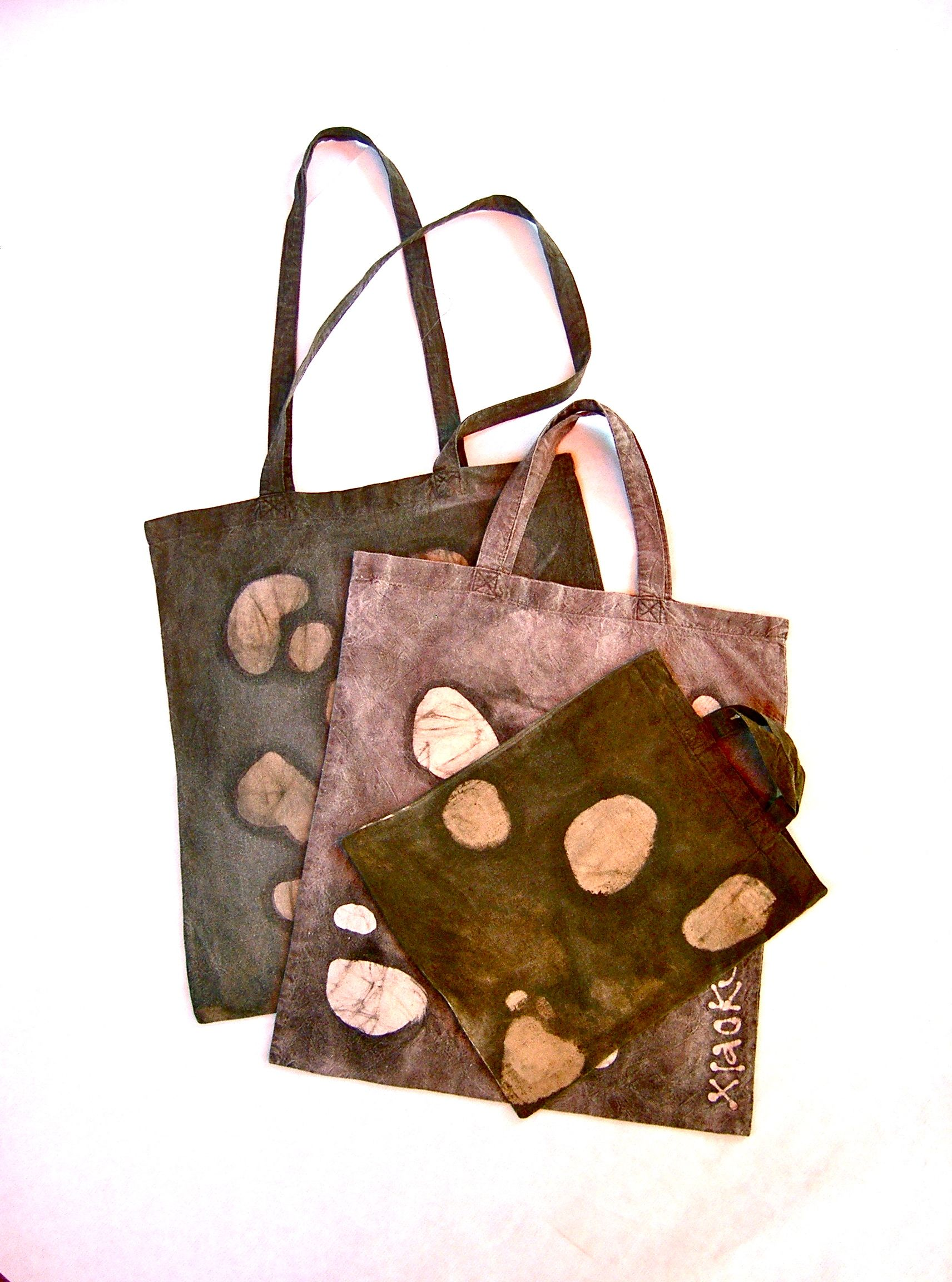 hand made batik bags texture cow www.toomuchlab.it