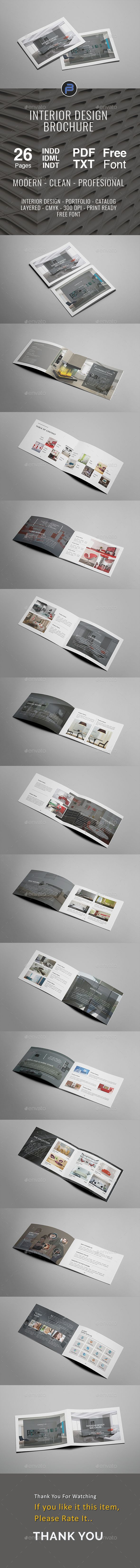 A5 Interior Design Brochure Template Indesign Indd 26