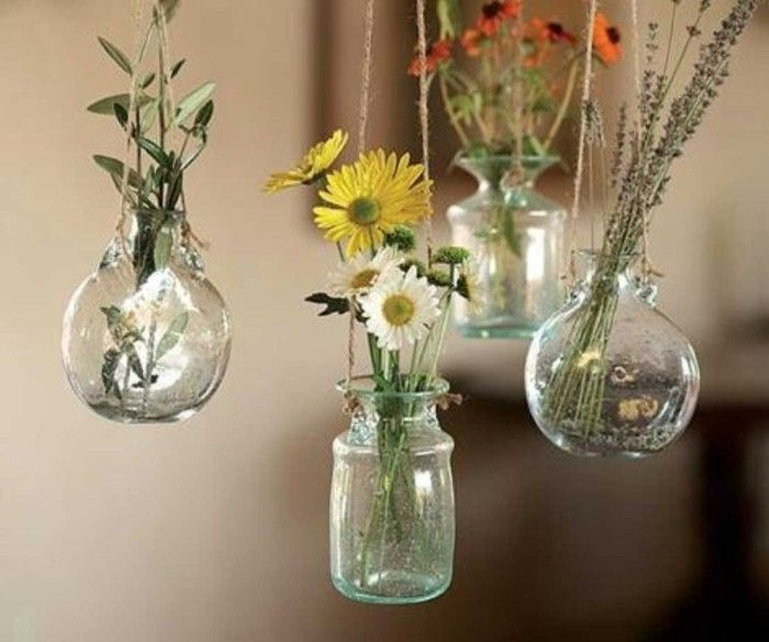 Diy Flower Vase Decor Wall Homedecor Diy Decor Pinterest