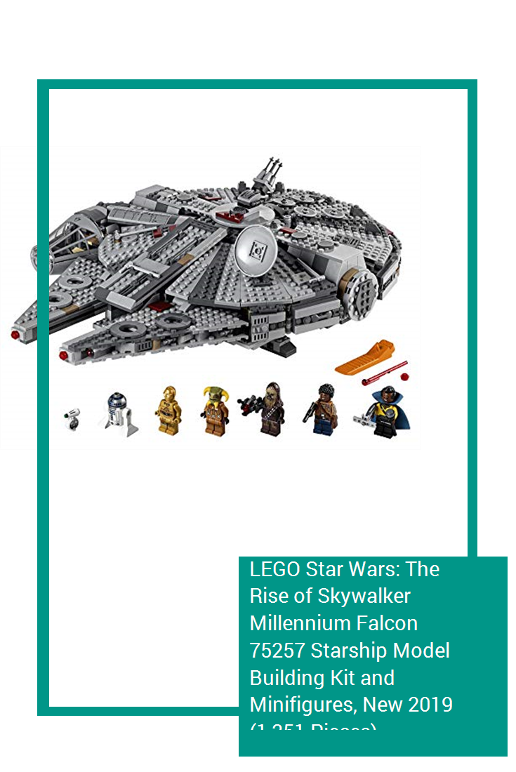Lego Star Wars The Rise Of Skywalker Millennium Falcon 75257 Starship Model Building Kit And Minifigures New 2019 1 35 In 2020 Lego Star Wars Lego Star Mini Figures