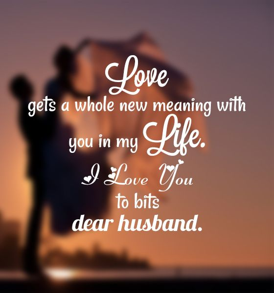 Husband Love Quotes Inspiration Love Quotes For Husband Messages Images And Pictures  Love Quotes
