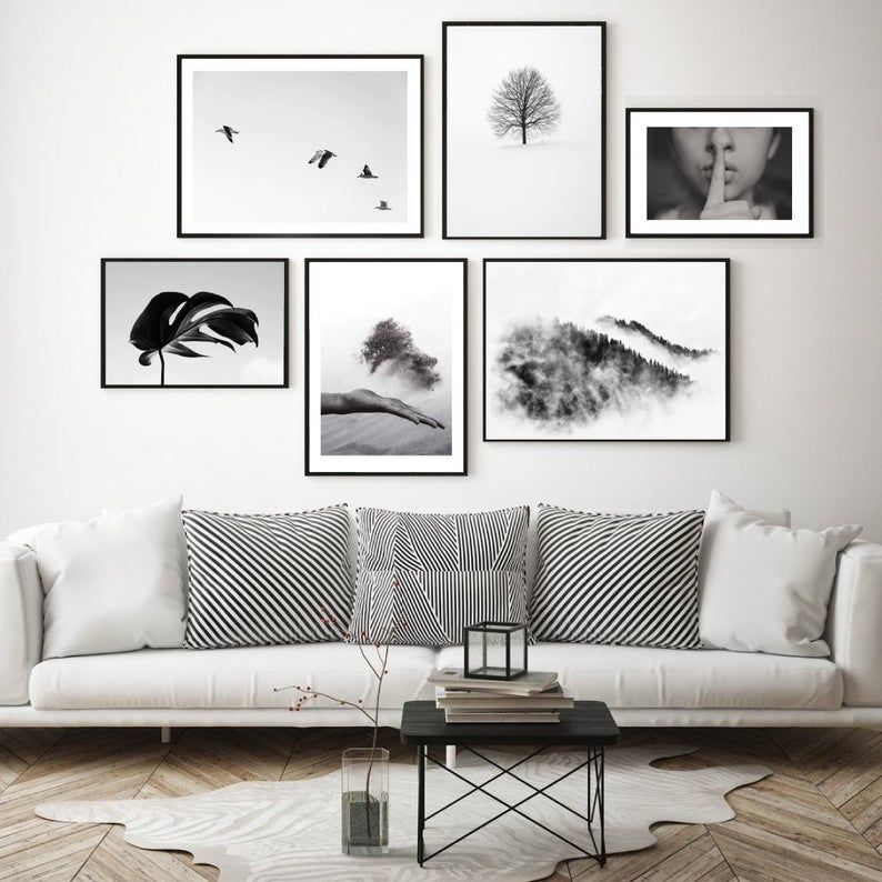Pin On Gallery Wall Living room wall art gallery