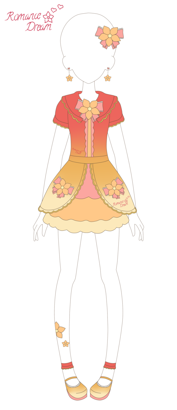 Romance Dream: Summer Frill Flower Coord by xMagical ...
