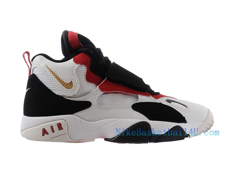Nike Air Max Speed Turf GS Chaussure de Basket-ball Pas Cher pour Femme  Rouge