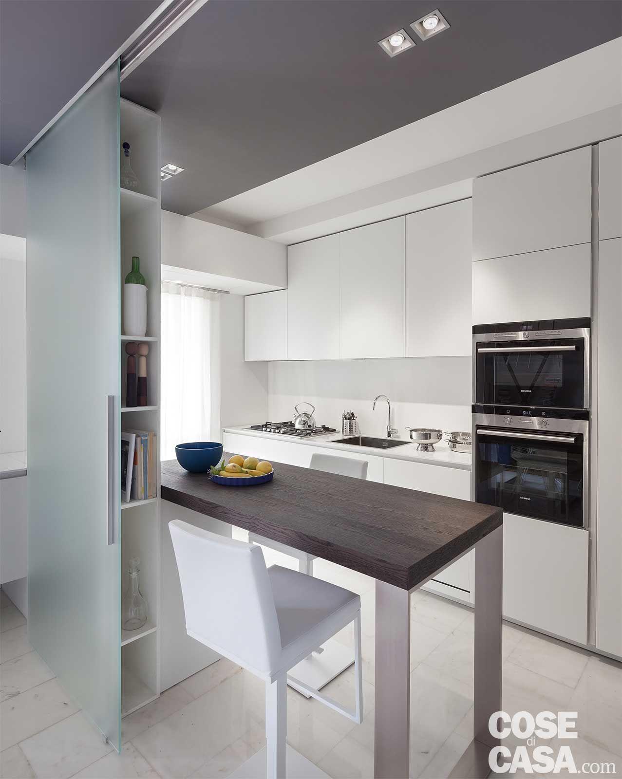 80 mq con controsoffitti funzionali e d 39 effetto progetti for Arredamento originale casa