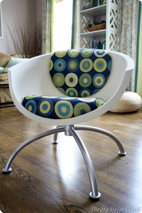 IKEA moon chair redo & IKEA moon chair redo | For the Home | Pinterest | Chair redo Diy ...