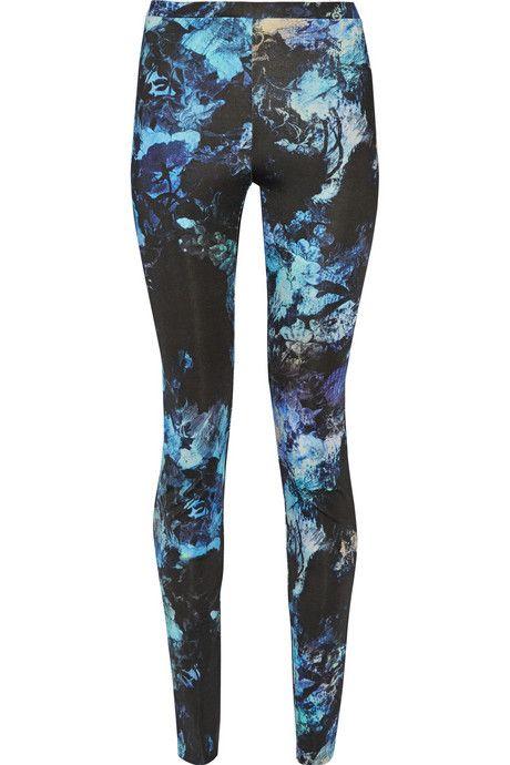 Just Cavalli Printed stretch-jersey leggings