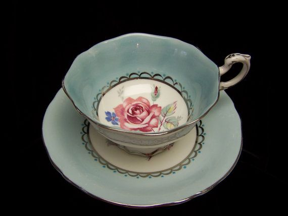Vintage  Exceptional Paragon Cup and Saucer by Cupsofthepast, $35.00
