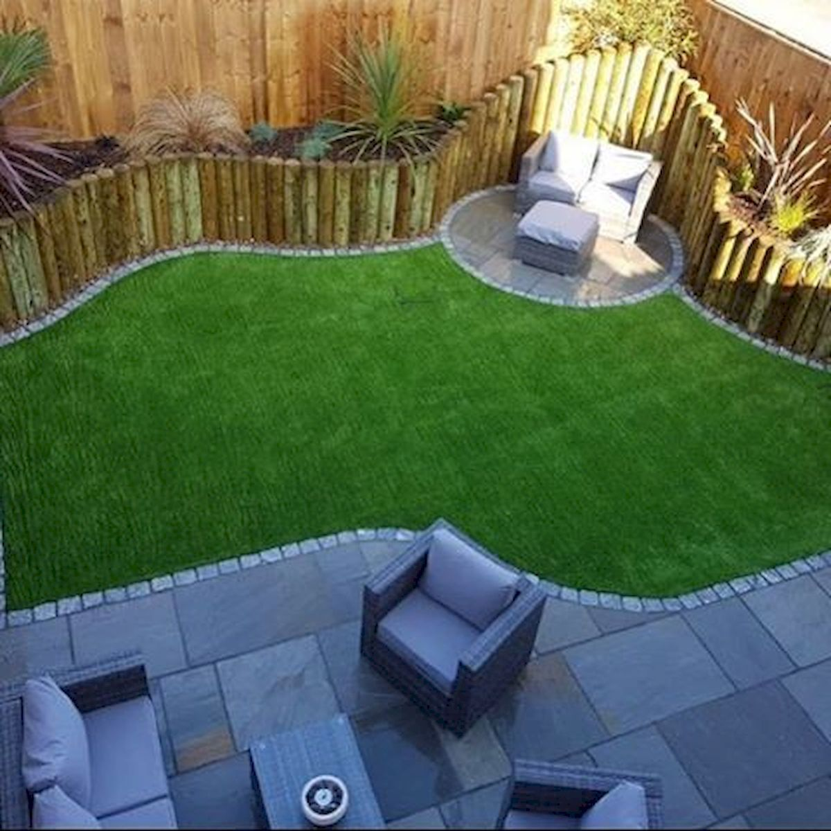 Landscaping Ideas For Sloped Front Yard: Gorgeous 40 Stunning Modern Garden Designs Ideas For Front