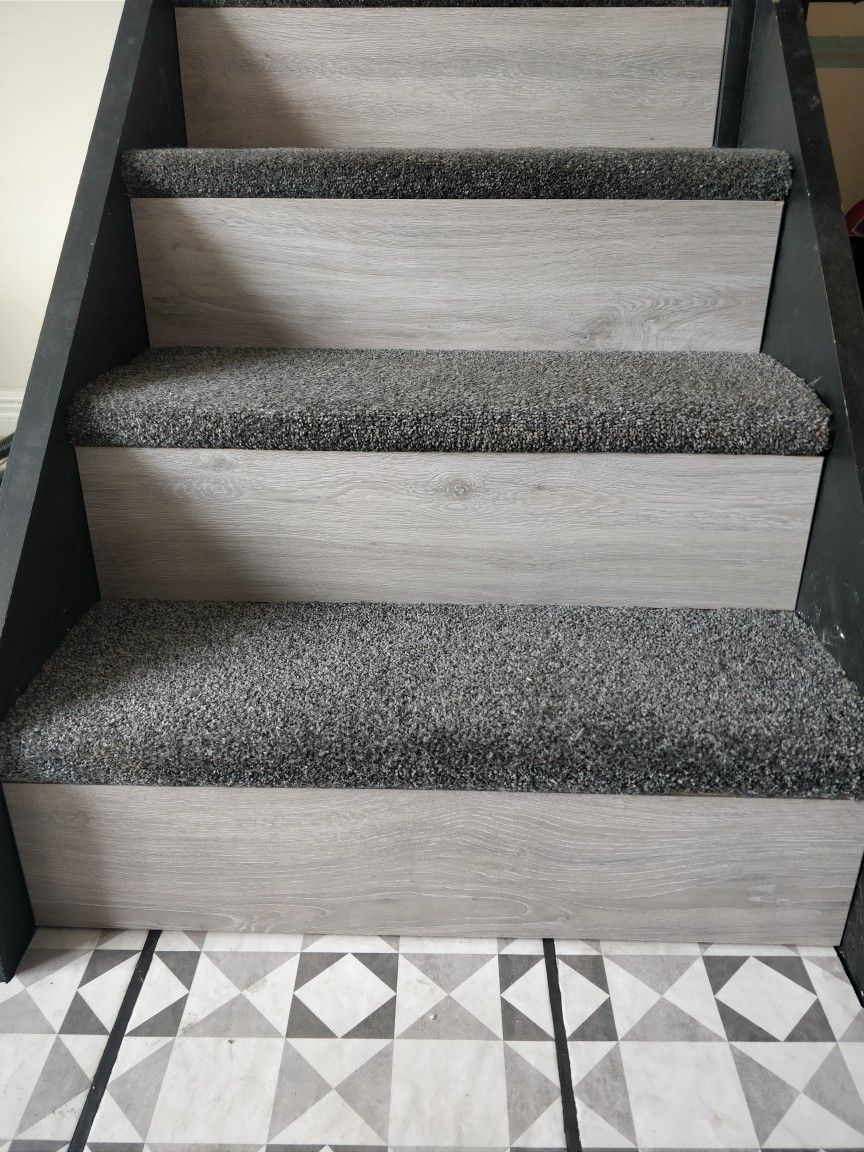 Best Staircase With Carpet And Laminate Diy Staircase 400 x 300