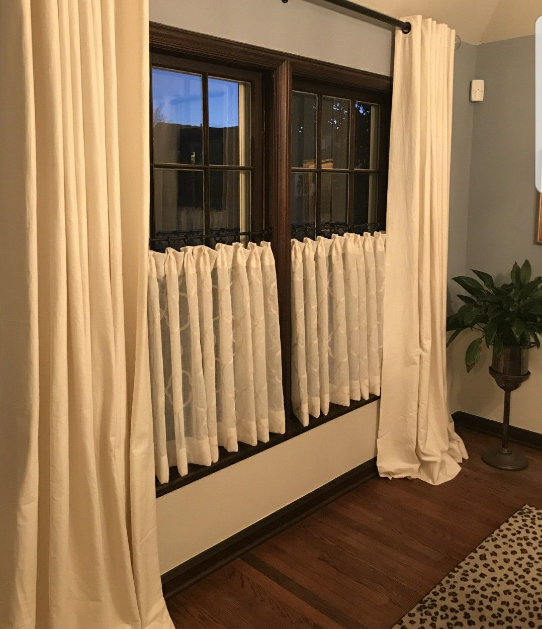 Cafe Iron Rod Small Space 1 2 Rod Room Divider Drapery Rod