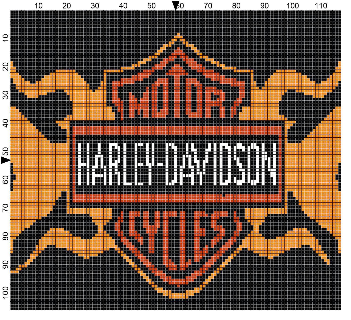 Image Result For Harley Davidson Crochet Graph Crochet Pattern