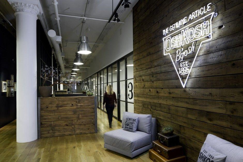Superbes aménagements de bureau en bois à découvrir