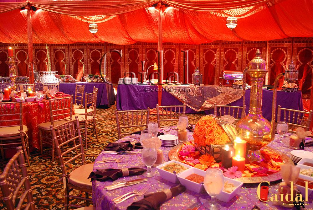 Centerpieces Moroccan Prom Theme