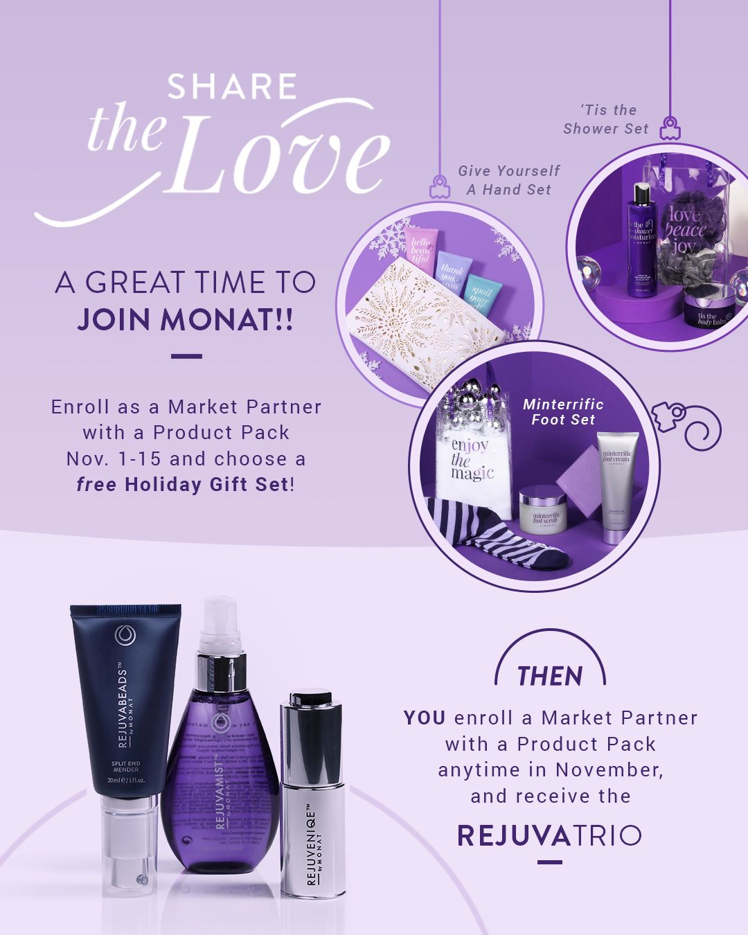 MONAT Resource Library Hair care business, Monat hair