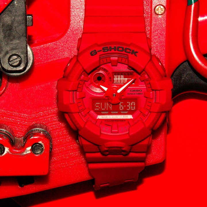 1f3bc84b7349 G-Shock GA-735C-4A from Red OUT Series