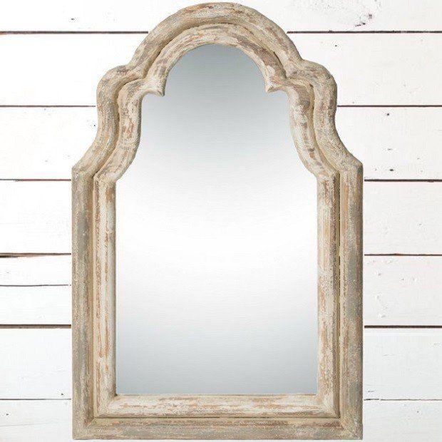 Decorative Arched Wall Mirror Framed Mirror Wall
