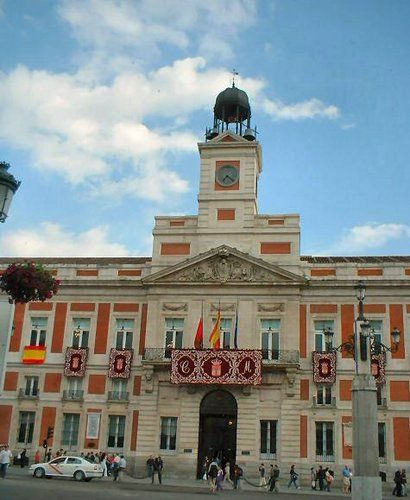 Sede Comunidad De Madrid Puerta Del Sol Madrid Madrid