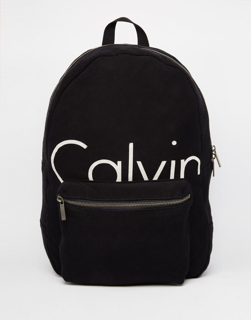 a4c20beb6 Calvin Klein – Rucksack mit Logo | anything girlyyy | Klein backpack ...