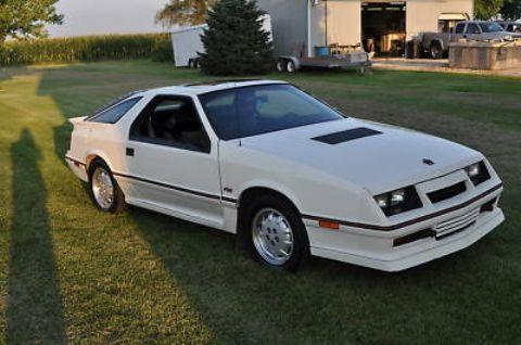 1986 Dodge Daytona Shelby Z White Dodge Daytona Dodge Shelby