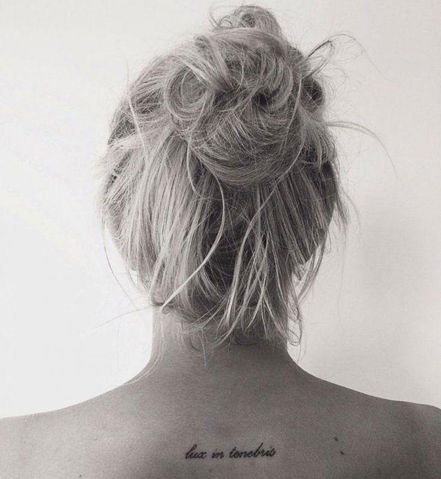 40 phrases se faire tatouer phrase pour tatouage lux et phrases - Phrase a tatouer ...
