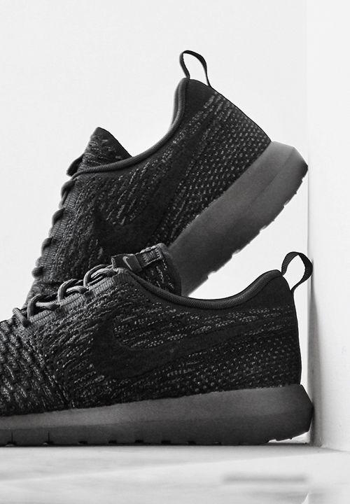 """NICELEAK:Nike Flyknit Roshe Run """"Midnight Fog"""""""