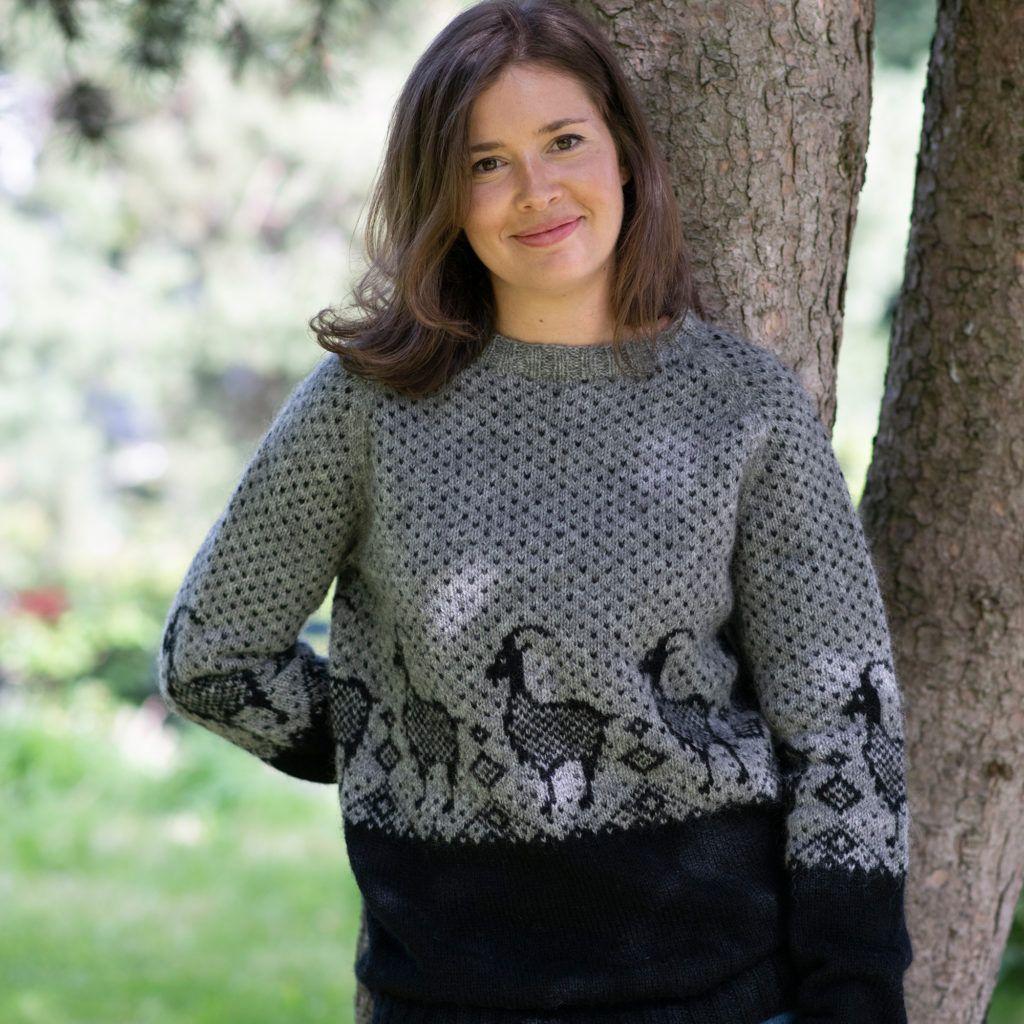 Tara jakke | Hillesvåg ullvarefabrikk