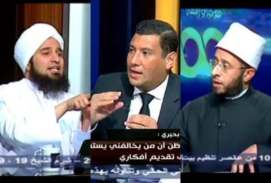 خيري رمضان يلتقي الحبيب علي الجفري في حوار مفتوح عن الدين والحياة في Talk Show Scenes Shows
