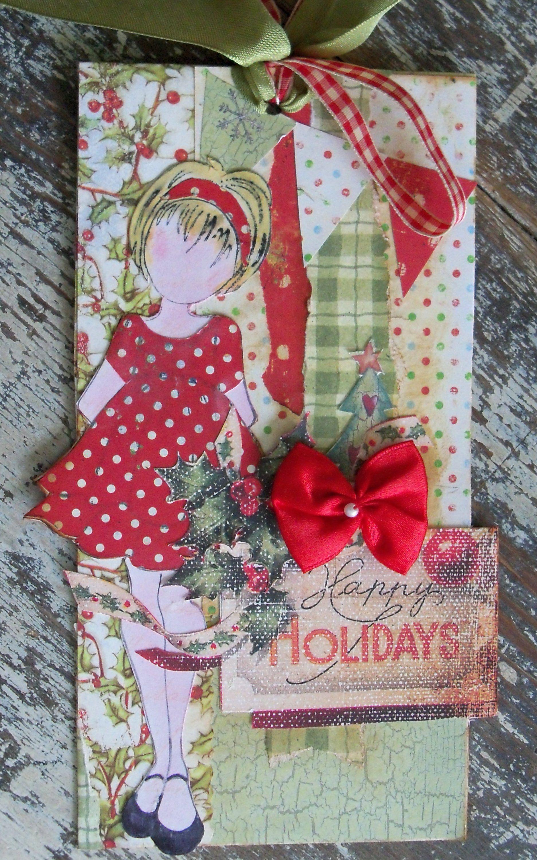 Happy holidays holiday scrapbook happy