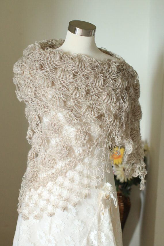 Bridal bolero, Wedding bolero,shawl,shrug,Crochet Shawl,Bridal Shawl ...