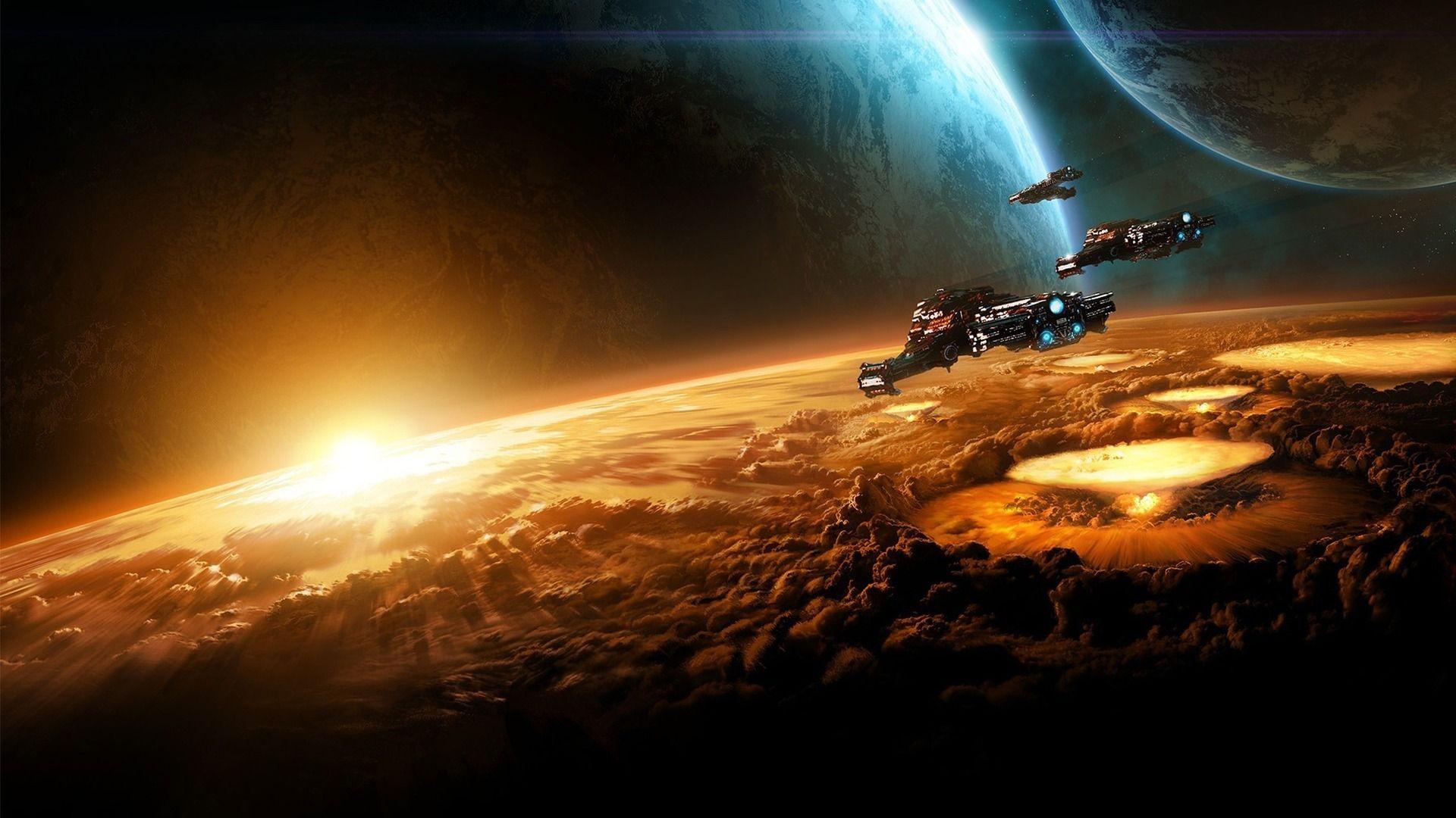 Sci Fi Desktop Backgrounds: Sci Fi Wallpaper Hd 3564